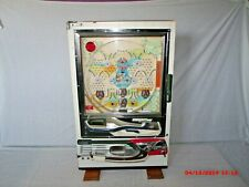 Vintage Nishijin Pachinko Machine ~ No More War 2 ~ Japanese Zero & Flag ~ Works