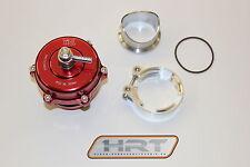 Tial Pop Off Ventil / Blow Off Ventil Q BOV 50mm Rot Turbo Biturbo Kompressor