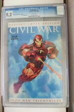 CGC 9.2 NM- NEAR MINT- SCARCE CIVIL WAR 7 EURO VARIANT RRP OLIVETTI