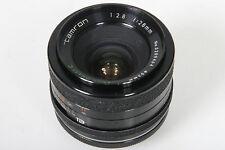 Tamron Adaptall 28mm, f/2.8. With Pentax M42 Screw Mount Converter