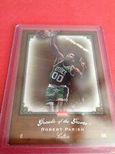 Robert Parish Celtics 2005-2006 Fleer Greats Of The Game Gold #76  5/99