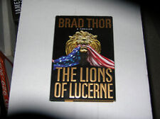 The Lions of Lucerne by Brad Thor (2002, Hardcover) SIGNED 1st/1st