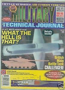 Military Technical Journal #11 Magazine June 1997 SEALED