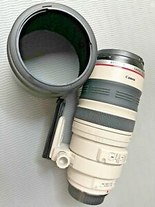 Cannon EF 100-400mm f/4.5-5.6L IS USM Telephoto Zoom Lens - White