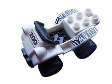 lego duplo véhicule de zoo noir blanc AUTO SAFARI JUNGLE quad Neuf