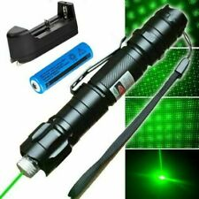 LASERPOINTER GRÜNER STRAHL 30 kM  AKKU +STAR CAPS 1mW GREEN LASER POWER POINTER