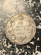 1918 Canada 50 Cents Lot#Q3419 Silver!