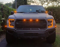 3PCS LED Light For FIT Ford F-150 F150 Raptor Style Grille Grill 2015-2019 AT1