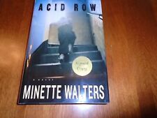 Minette Walters SIGNED - ACID ROW 2002 HC / DJ - First Edition 1st Printing