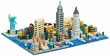 NANOBLOCK NEW YORK DELUXE Over 1400 pieces Building Blocks Nanoblocks NB-033