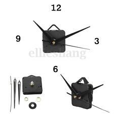 Quartz Clock Movement Mechanism Repair DIY Tool Kit Black Hands Replacement USA