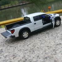 Ford F-150 Ranger 1:32 Car Model Alloy Diecast Toy Sound  Light Blue Gifts toy