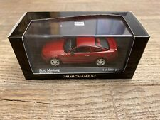 Minichamps 1/43 Ford Mustang GT 2005 red metallic n°400 084120