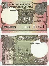 INDIA 2017 One Rupee New Sign Das L Inset Ashoka Watermark Bank Note UNC NEW