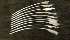 10 HAND CUT GOOSE QUILL PENS FOR CALLIGRAPHY AND INK ARTWORK