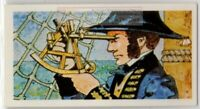 Mariner's Sextant History Invention And Development Vintage Trade Ad Card