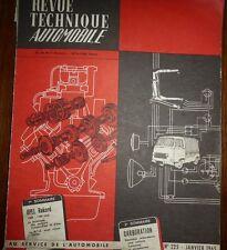 Revue technique OPEL REKORD 1500 / 1700 cm3 A et P II RTA 225 1965 GENERAL MOTOR