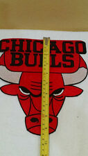 BIG JACKET PATCH CHICAGO BULLS  9X8 INCHES