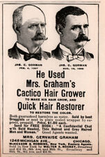 1900 B AD MRS GERVAISE GRAHAM CACTICO HAIR GROWER BALD CURE QUACK