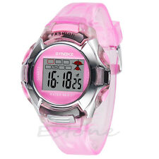 Multifunction Waterproof Sport Electronic Digital Wrist Watch For Child Boy Girl