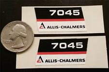 Allis-Chalmers 7045 Hood Decal Set 1970s ERTL 1:16 Custom or Stock Project 7040
