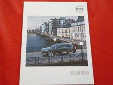 Volvo xc90 t8 Twin Engine AWD t6 AWD t5 AWD d5 AWD d4 folleto de 2016