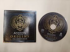 Assassins Creed Origins CD soundtrack from Collectors edition new uk