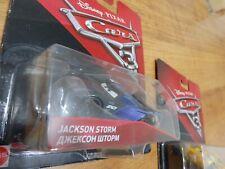 Disney Pixar Cars 3 Jackson Storm Diecast 1:55 Vehicle car Toy Brand New in pack