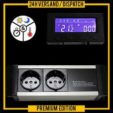 Termostato TERRARIO ACUARIO de alarma cklock Temporizador Digital * pantalla externa * Txb