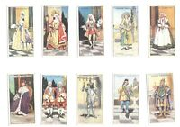 1927 Gilbert And Sullivan 2 performing arts Complete Players Tobacco Set 50 card