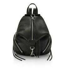 Women Rebecca Minkoff Julian Leather Backpack Black Medium 846632786567