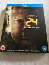 24 Live Another Day Blu Ray With Slipcase - Kiefer Sutherland