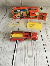 Lionel City Corgi Firetruck Mack B Pumper #52402