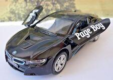 Wedding Day Gift Personalised Page Boy Usher Name Black BMW i8 Boy Toy Car Boxed