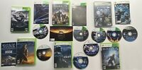 Xbox 360 Halo 3, 3 ODST, 4, Combat Evolved Anniversary, Reach & Wars 6 Game Lot!
