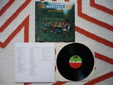 Stephen Stills Manassas Down The Road Vinyl UK 1973 Atlantic 1st Press LP CSN