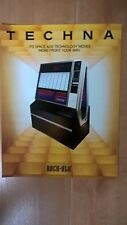Rockola 480 Techna Vinyl Jukebox Sales Brochure / Flyer / Pamphlet