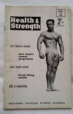 Health & Strength Muscle Men Bodybuilding Magazine Jan 24 1963 - Tony Gambin
