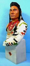 A SALE PRICE Fabulous Castagna Indian BUST of Chief Josep 25 cms tall