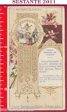 1482 SANTINO HOLY CARD REGINA SACRATISSIMI ROSARI  1.  1° MISTERO GLORIOSO