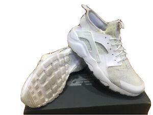 Mens Nike Air Huarache Ultra Trainers Size 9 White