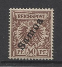 1900 German colonies SAMOA  50 Pf. early issue  mint*, $ 56.00