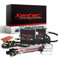 Xentec Halogen High Beam- HID Lights Low bulb 35W 55W HID Kit H4 H13 Hb1 9007