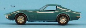 AMT ERTL 1:25 1:24 1970 Chevrolet Corvette LT-1 Mulsanne Blue Built Model #6878