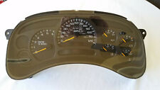2003 04 05 Chevy Silverado GM Sierra Tahoe Yukon Speedometer Instrument Cluster