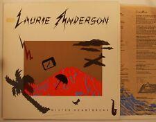 Laurie Anderson Mister Heartbreak  Ger 1983 LP + IS Peter Gabriel