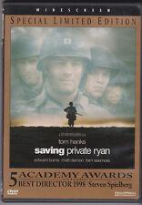 Saving Private Ryan Tom Hanks Matt Damon Steven Spielberg Wwii Classic Spec Ed.