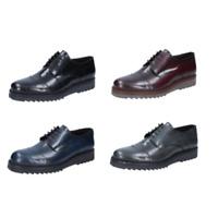 SALVO BARONE scarpe uomo classiche pelle lucida vari colori