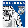 123783 CANTERBURY BULLDOGS NRL TEAM LOGO POLAR FLEECE THROW BLANKET PICNIC RUG