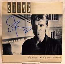 "Sting ""The Police"" Signed Autographed Album B"